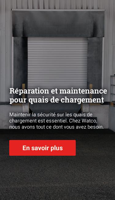 Les essentiels de réparation et de maintenance pour quais de chargement