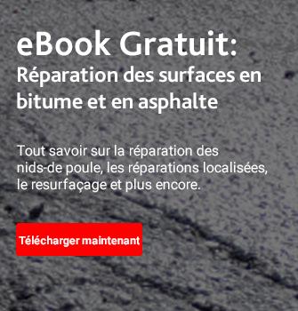 eBook Gratuit :  Réparations des surfaces en bitume et en asphalte