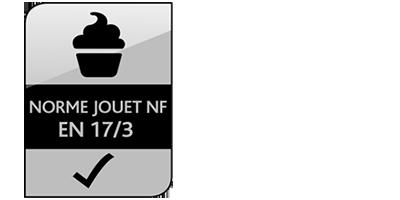 Icone Norme Jouet NF EN 17/3