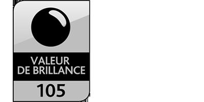 Icone Valeur de brillance : 105