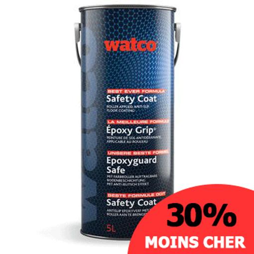 Epoxy Grip® - peinture époxy sol béton légèrement antidérapante