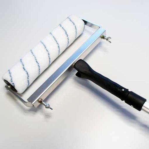Rouleau de 31 cm à poils moyens avec Cadre et Manche télescopique image 1