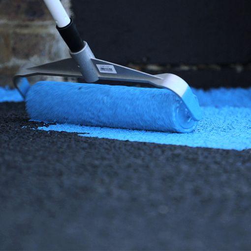 """""""Watco Color'bitume® Antidérapant, peinture antidérapante pour le marquage de sols en bitume à trafic modéré"""""""